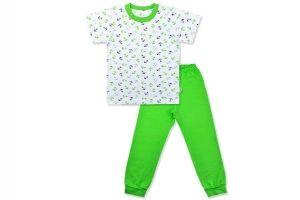 """0338 Комплект домашний для мальчика """"Морской"""" (футболка+штанишки)"""