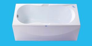 """Акриловая прямоугольная ванна """"ИМПЕРАТОР 1500/1600/1700/1800"""""""