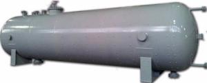 Аппараты емкостные стальные цилиндрические типа 1, 2, 3