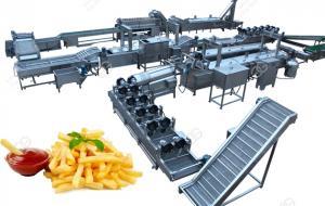 Автоматическая линия для производства картофельных чипсов