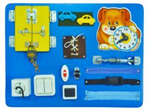детская игрушка Бизиборд