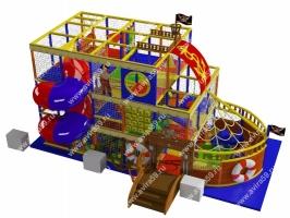 Детский игровой лабиринт Фрегат
