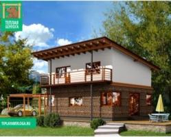 Дом из СИП панелей — ДС6, 150 м2