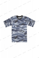 ФФМ-18МКМФ Фуфайка-футболка мужская под манжет (камуфляж)