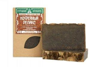 FITODIVA «Кофейный релакс» натуральное мыло