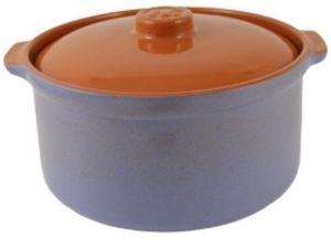 Горшок-сотейник керамический