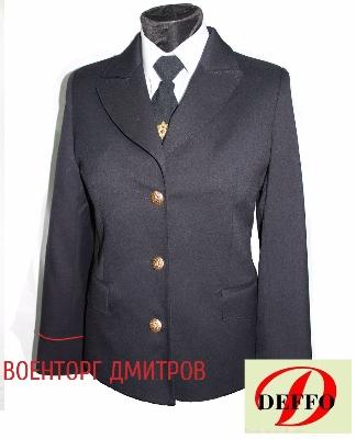 612614058c5c Китель Полиция (Юстиция) женский без шевронов - купить, узнать цену ...