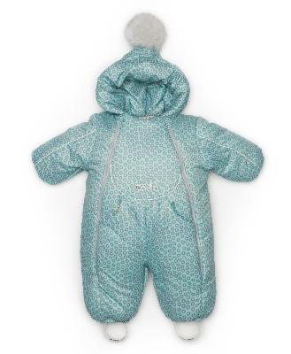 Комбинезон для новорожденного, Зимний, С помпоном,арт. 244шм