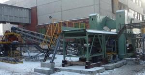 Комплекс утилизации крупногабаритного железобетона, бетона