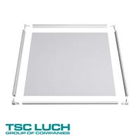 Комплект для самостоятельной сборки корпуса для потолочных светильников серии Slim DSO-komplekt CTM, размер основания 595х595х25