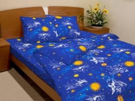 Комплект постельного белья 1,5 сп микрофибра с 1 или 2 наволочкой