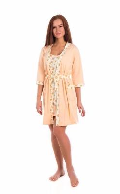 Комплект сорочка + халат
