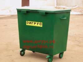 Контейнер для мусора объёмом 0.8 м3