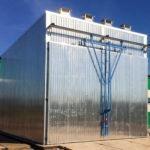 Корпус сушильной камеры от 25 до 200 куб.метров