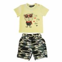 Костюм для мальчика (футболка, шорты) 74-104 см