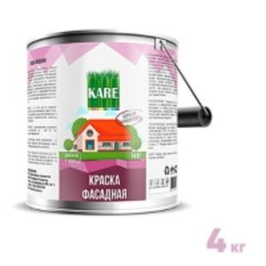Краска Фасадная Акриловая KARE