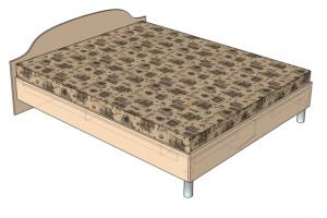 "Кровать на заказ ""Александра"""