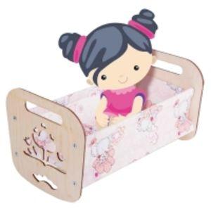 Кроватка для кукол «Катюша»