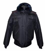 Куртка Полиция зима мужская укороченная без шевронов