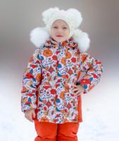 Куртка зимняя для девочки Арт. БД 0038.1 - П042