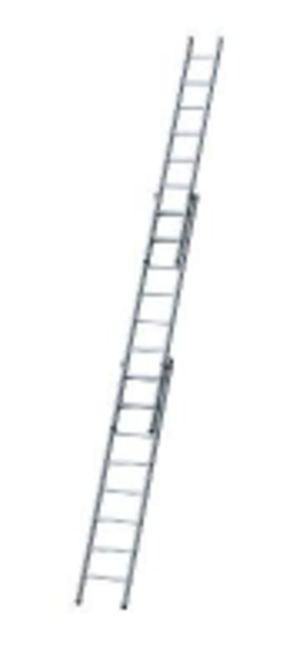 Лестница алюминиевая раздвижная (Германия)