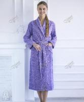 Махровый халат с шалькой
