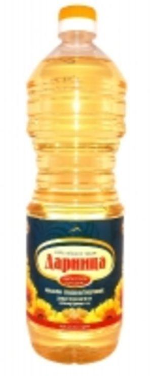 Масло подсолнечное рафинированное Дарница 1л