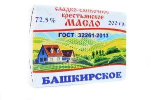 """Масло сливочное """"Крестьянское"""" фасованное в пачки"""