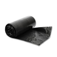 Мешок для мусора 30 литров, 50х60см, черный ПНД, 3,15гр, 7мкм, без этик, 30 шт/рул, 50 рул/кор