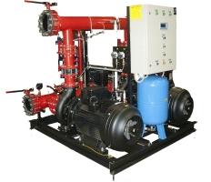 Модульная пожарная насосная установка МПНУ