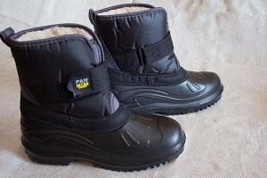 Мужские ботинки на меху из ЭВА