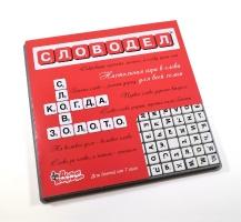 Настольная игра «Словодел» (мини-фишки)