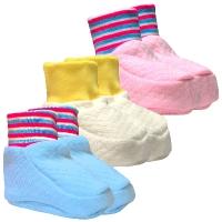 Носки, пинетки, варежки для новорожденных от производителя.