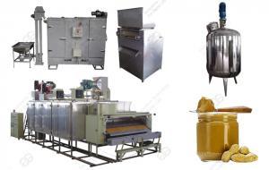 Оборудование для производства арахисовой пасты(500кг/ч)