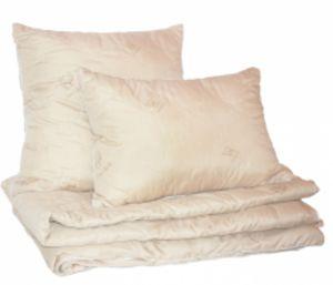Одеяла и подушки серии комфорт (овечья и верблюжья шерсть, бамбуковое, льняное, шелковое, эвкалиптовое волокно, волокно крапивы и искусственный лебяжий пух).