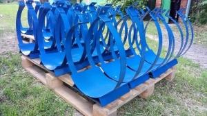 Опоры скользящие хомутовые для труб ППУ.