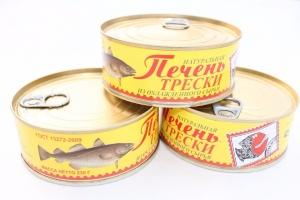 Печень трески морская 230гр