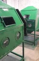 Пескоструйные камеры, аппараты, сопутствующее оборудование, производитель