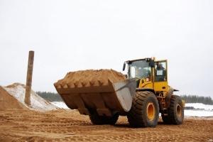 Песок в Пушкино