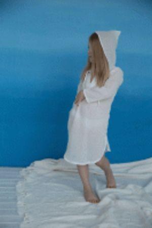 Платье для плажа, Льняное лето