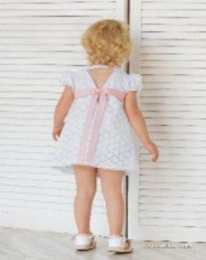 Платье-шитьё со съёмным декоративным бантом (арт 1912168)
