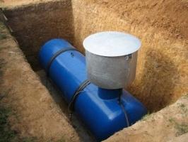 Подземные емкости для газа. Подземный газгольдер