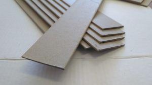 Полоса картонная защитная