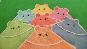 Полотенце-уголок махровый