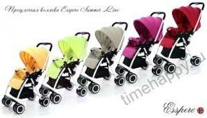 Прогулочная коляска Esspero Summer Line