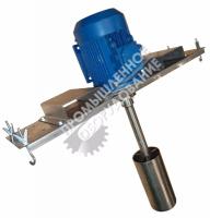 Пропеллерная мешалка с направляющей трубой