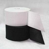 Резинка вязаная, 80 мм,цв.черный (уп.-50м)
