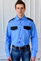 Рубашки для охранных структур (мужские и женские) от производителя.