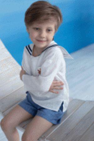 шорты для мальчика, Льняное лето