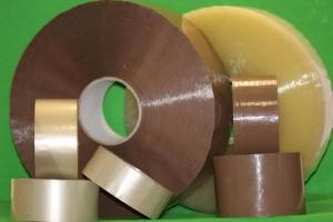 Скотч упаковочный прозрачный коричневый (48мм*48мкм*66м)